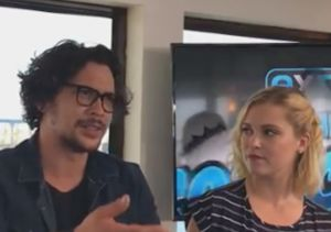 Secretly Married! Eliza Taylor & Bob Morley Are Wed