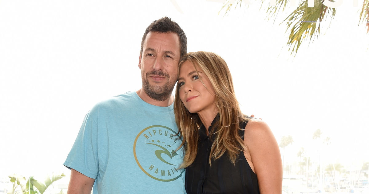 Adam Sandler Reveals He Took Same Plane as Jennifer Aniston