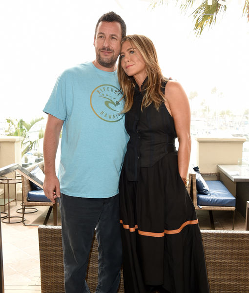 Adam Sandler Reveals He Took Same Plane as Jennifer Aniston the Day After Her…