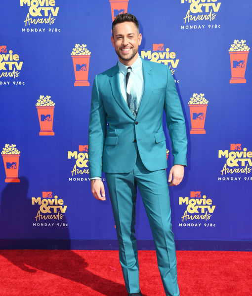 Who Zachary Levi Was Nervous to See at the MTV Movie & TV Awards, Plus: His…