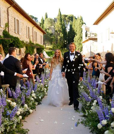 Wedding Pics! Caroline Wozniacki Marries David Lee