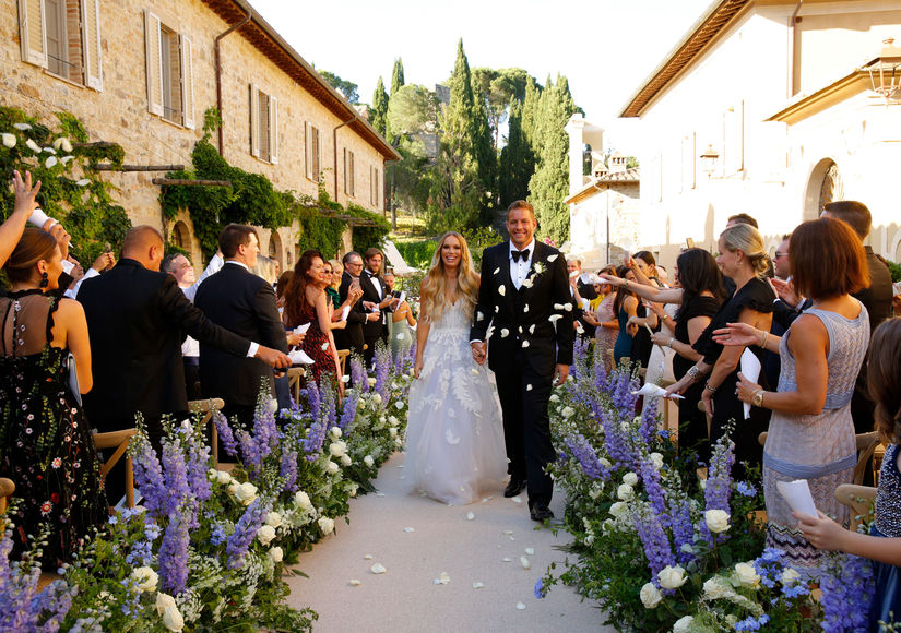 Wedding Pics! Caroline Wozniacki Marries David Lee