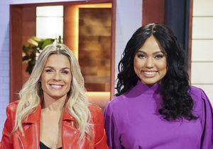 Ayesha Curry & Cat Cora Explain 'Family Food Fight,' Plus: Their…