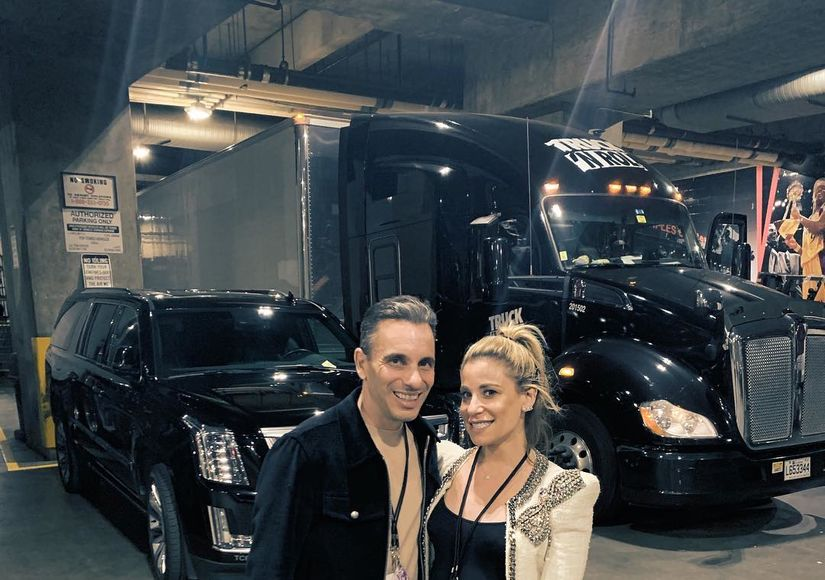 First Pics! Comedian Sebastian Maniscalco & Wife Lana Welcome Baby #2