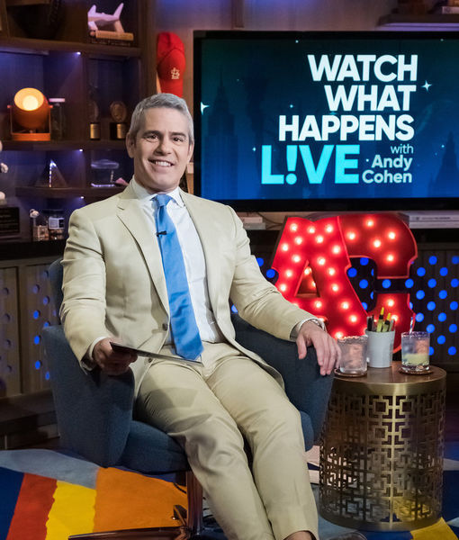 Andy Cohen Celebrates 10 Years of 'WWHL,' Plus: Will He Become a Dad Again?
