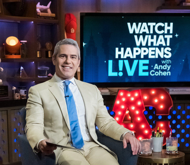 Andy Cohen on 10 Years of 'WWHL,' Plus: Will He Become a Dad Again?