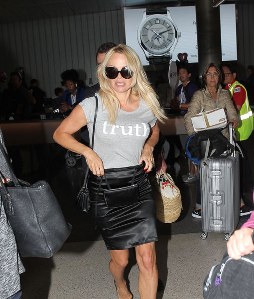 Pamela Anderson Back in L.A. and Dropping More Bombshells About Her Ex-BF