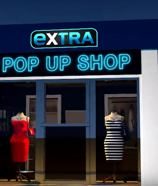 'Extra's' Pop-Up Shop: Blowout Brushes, Portable Razor Sets, and Sonic…
