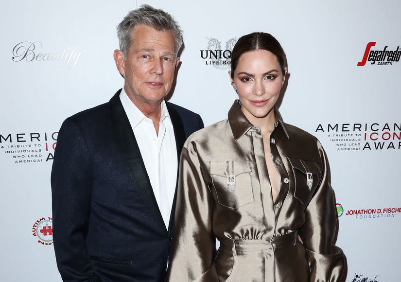 Report: Katharine McPhee & David Foster Expecting First Child Together