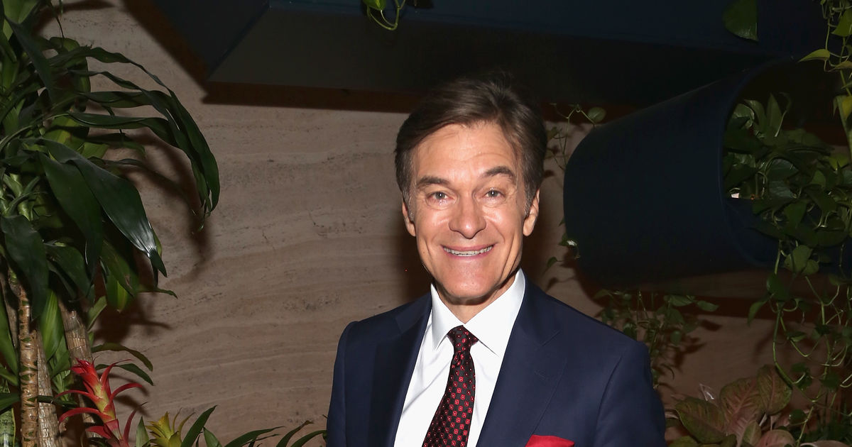 Why Dr  Oz Says Alex Trebek Is Fighting Cancer the Right Way