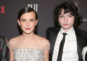 Millie Bobby Brown & Finn Wolfhard Talk Their Awkward Kissing Scenes on…