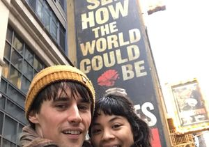 Broadway Co-Stars Reeve Carney & Eva Noblezada Spark Dating Rumors