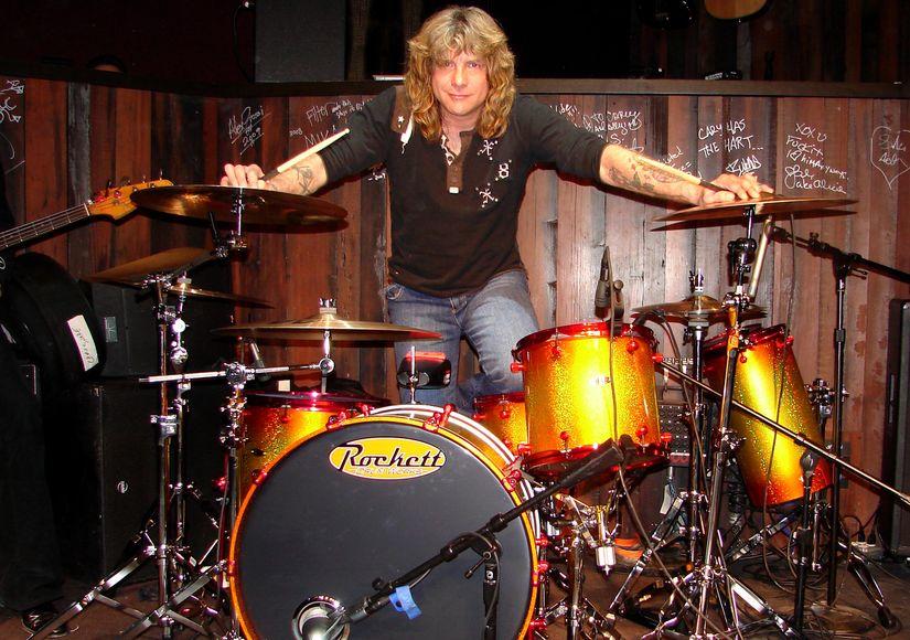 Guns N' Roses Drummer Steven Adler Hospitalized