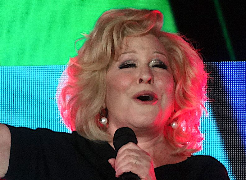 Bette Midler Responds to Trump Calling Her 'Washed Up Psycho'