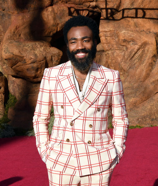 Surprise! Donald Glover Welcomes Baby #3