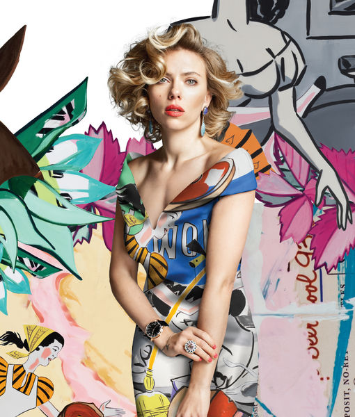 Scarlett Johansson Brings Art to Life for AS IF
