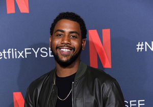 'When They See Us' Star Jharrel Jerome Says He's Taking His Mom to the Emmys