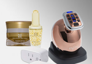 'Extra's' Pop-Up Shop: Smart Plugs, Anti-Cellulite Devices, and 24K Gold…