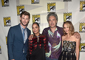 Pics! Marvel Brings the Star Power to Comic-Con 2019