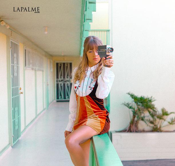 'Riverdale' Muse Bellsaint Goes Retro for Lapalme