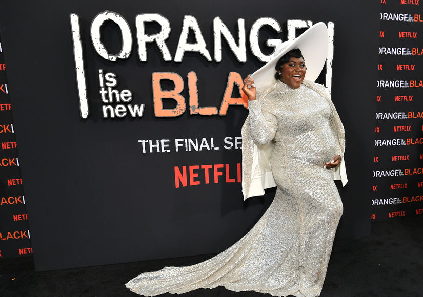 See Danielle Brooks' Super Glam Maternity Look at the 'OITNB' Premiere