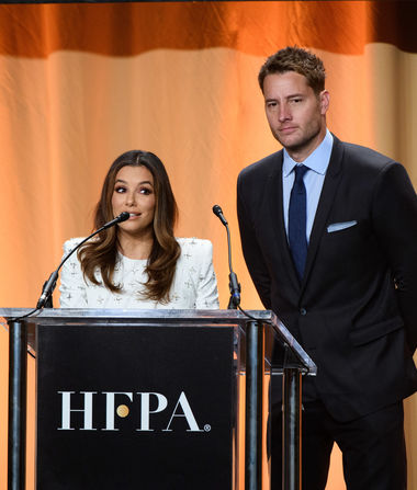 Pics! Stars at the HFPA Grants Banquet 2019