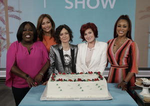 Sharon Osbourne Breaks Down in Tears as She Says Goodbye to Sara Gilbert on…