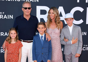 Kevin Costner's Family Makes Rare Red-Carpet Appearance at 'Art of Racing…