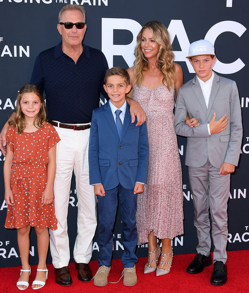 Kevin Costner's Family Makes Rare Red-Carpet Appearance at 'Art of Racing in the Rain' Premiere