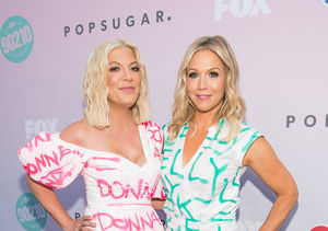 Tori Spelling & Jennie Garth Open Up on Missing Luke Perry