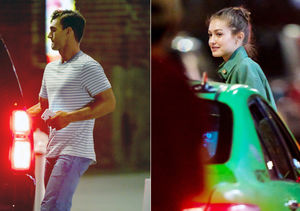 Tyler Cameron & Gigi Hadid Hang Out — Days After His Overnight…
