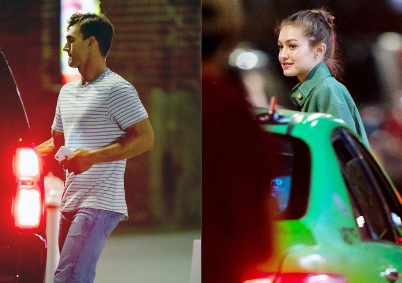 Tyler Cameron & Gigi Hadid Hang Out — Days After His Overnight Date with Hannah B