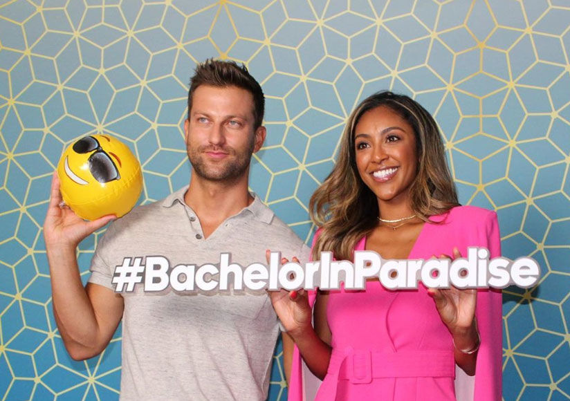 'BIP': Tayshia Adams & Chris Bukowski on All the Blake Drama!