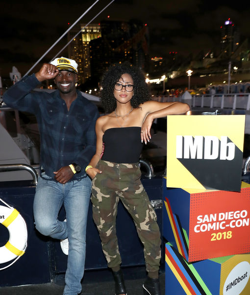 'The First Purge' Co-Stars Lex Scott Davis & Mo McRae Are Married