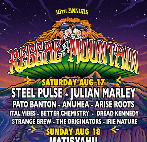 Reggae on the Mountain Celebrates 10-Year Anniversary! Check Out the Lineup