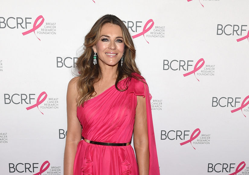 Why Elizabeth Hurley Calls Herself 'Naughty'