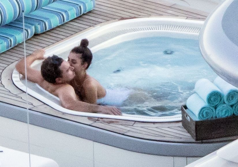 Steamy Pics! Leonardo DiCaprio & Camila Morrone Pack on the PDA in Italy
