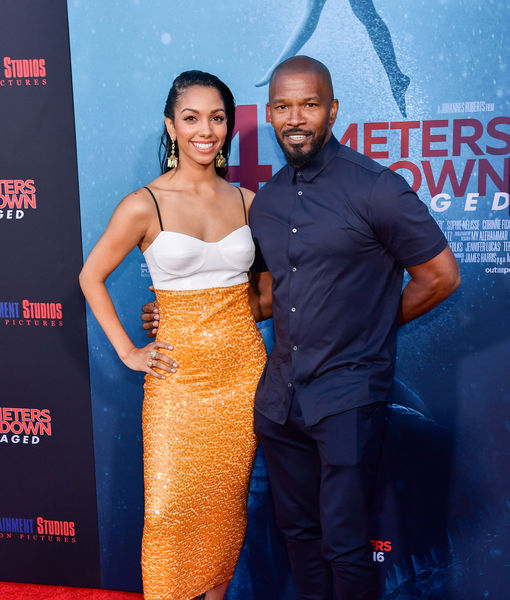 Jamie Foxx Admits He Teared Up Over Daughter Corinne's Debut