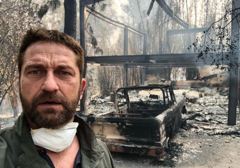 Gerard Butler Opens Up About Rebuilding His Malibu Home