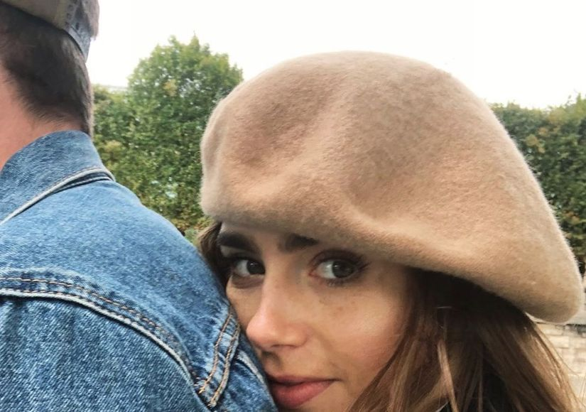 Lily Collins & Charlie McDowell Make It Instagram Official