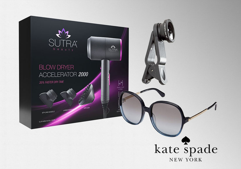 'Extra's' End of Summer Blowout Pop-Up Shop: Blow Dryers, Smartphone Lens…