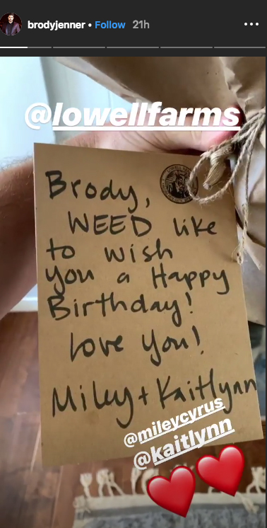 brody-jenner-miley-birthday-note