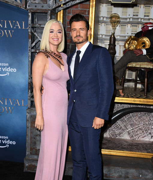 Orlando Bloom & Katy Perry's Wedding Invite for Ariana Grande... After She Buys Them Dinner!