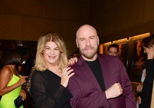 John Travolta & Kirstie Alley's Reunion at the Premiere of 'The…