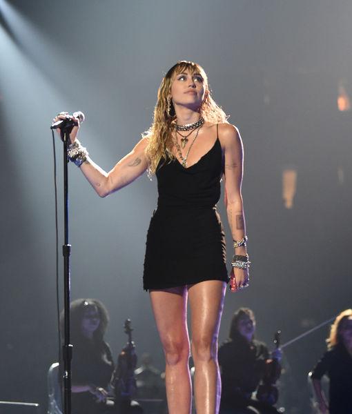 Miley Cyrus Debuts Her Breakup Ink at MTV VMAs 2019