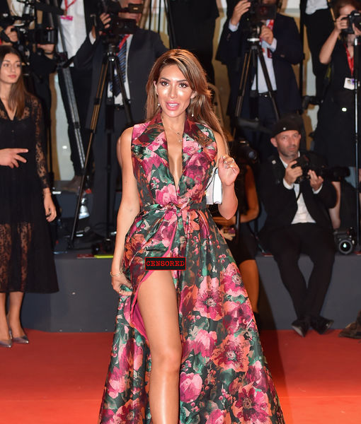 Reality Star Farrah Abraham Goes Commando At Venice Film