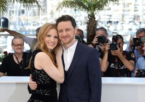 'Extra' Scare! Watch James McAvoy Frighten Jessica Chastain