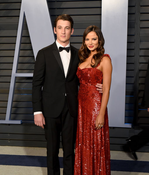 Just Married! Miles Teller & Keleigh Sperry Tie the Knot