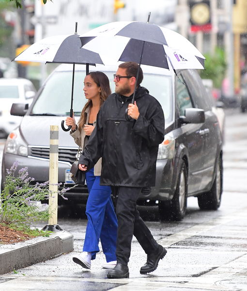Jonah Hill & GF Gianna Santos Engaged — See Her Ring!