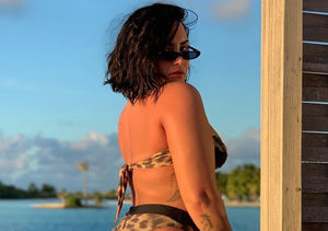 Demi Lovato Faces 'Biggest Fear,' Posts Unedited Bikini Pic